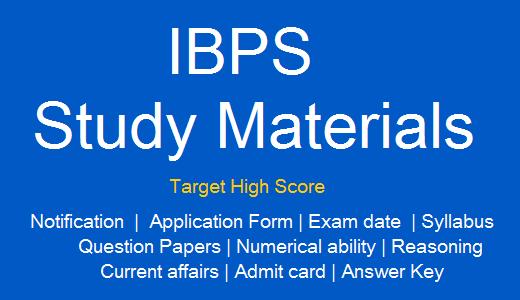 ibps-study-materials