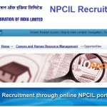 NPCIL Recruitment 2016 for Executive Trainee