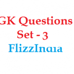GK Questions and Answers Set – 3