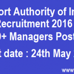 Airport Authority of India Recruitment 2016 Apply Online