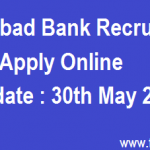 Allahabad Bank Recruitment 2016 Apply Online Specialist Officers