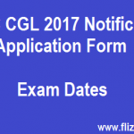 SSC CGL 2017 Notification and Application Form