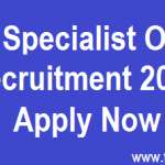 SBI Recruitment 2016 For Specialist Officers Latest Bank Jobs