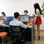 In China, Women Are Being Hired to Motivate Computer Programmers