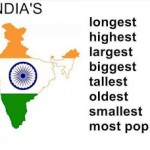 Superlatives of India Largest Longest and Highest