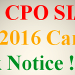 SSC CPO (SI/ASI) Exam 2016 Cancelled as Paper Leaked