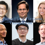 Forbes Released List of Global Game Changers Business Leaders Transforming The World