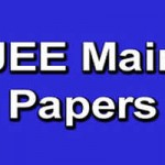 IIT JEE Main (2016) Question Paper Download PDF