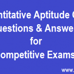 Maths Questions for Competitive exams 2016-2017