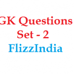 GK Questions and Answers Free Download pdf for SSC CGL 2016 Set -2