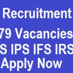 UPSC Civil Services IAS IPS Exams 2016 – UPSC Recruitment 2016