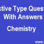 Chemistry Objective Type Questions and Answers