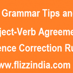 General English Sentence Correction Rules for Competitive Exams