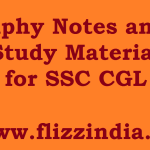 Geography Notes and Free Study Material for SSC CGL and CHSL 2017