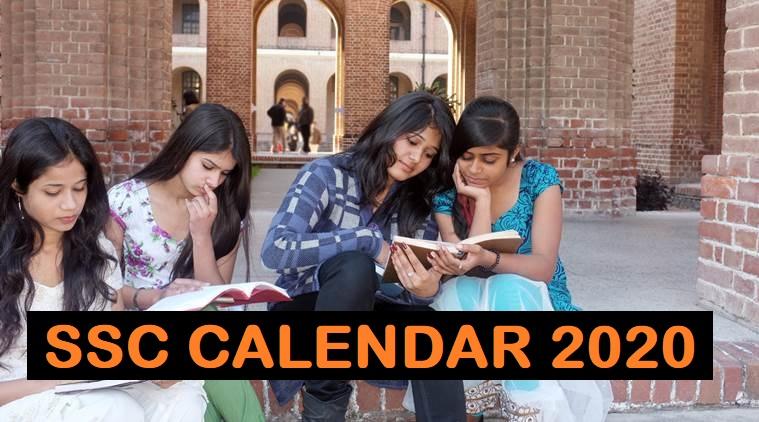 ssc calendar 2020